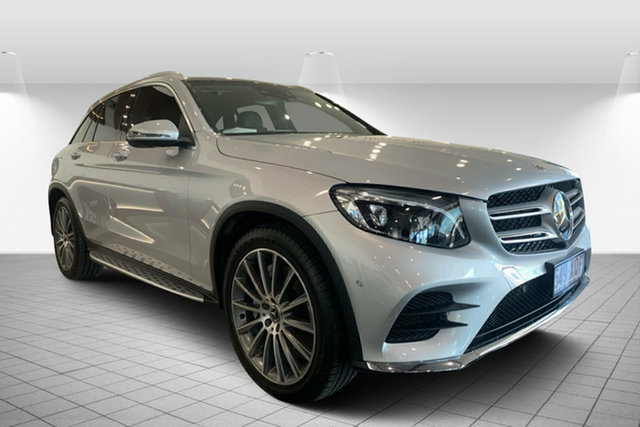 Used Mercedes-Benz GLC-Class X253 808MY GLC350 d 9G-Tronic 4MATIC, 2017 Mercedes-Benz GLC-Class X253 808MY GLC350 d 9G-Tronic 4MATIC Silver 9 Speed Sports Automatic