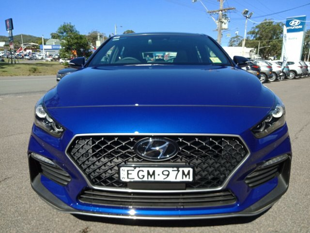 Demo Hyundai i30 PD.3 MY20 N Line D-CT Premium, 2019 Hyundai i30 PD.3 MY20 N Line D-CT Premium Intense Blue 7 Speed Sports Automatic Dual Clutch