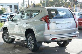 2021 Mitsubishi Pajero Sport QF MY21 GLX Sterling Silver 8 Speed Sports Automatic Wagon.