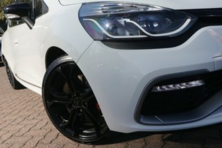 2015 Renault Clio X98 RS 200 Cup White 6 Speed Automatic Hatchback.