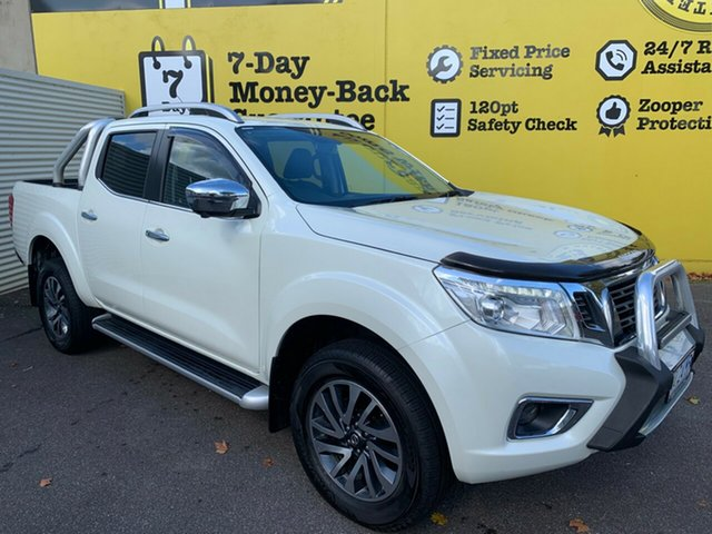 Used Nissan Navara D23 S3 ST-X, 2018 Nissan Navara D23 S3 ST-X White Diamond 7 Speed Sports Automatic Utility