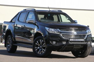 2019 Holden Colorado RG MY20 Storm Pickup Crew Cab Black 6 Speed Sports Automatic Utility.
