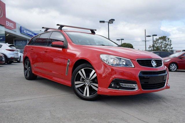 Used Holden Commodore VF MY15 SV6 Sportwagon Storm, 2015 Holden Commodore VF MY15 SV6 Sportwagon Storm Red 6 Speed Sports Automatic Wagon