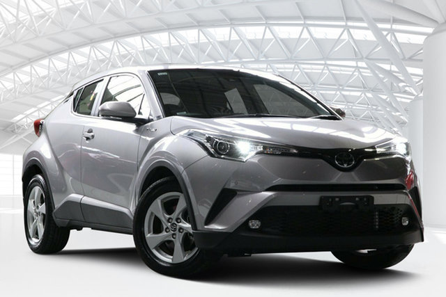 Used Toyota C-HR NGX10R Update (2WD), 2019 Toyota C-HR NGX10R Update (2WD) Grey Continuous Variable Wagon