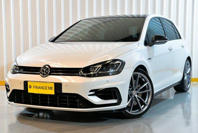 Used Volkswagen Golf 7.5 MY18 R DSG 4MOTION Wolfsburg Edition, 2017 Volkswagen Golf 7.5 MY18 R DSG 4MOTION Wolfsburg Edition White 7 Speed