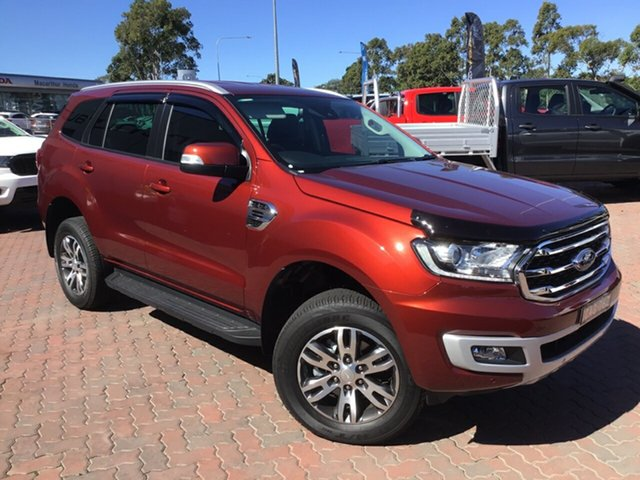 Demo Ford Everest UA II 2019.75MY Trend 4WD, 2019 Ford Everest UA II 2019.75MY Trend 4WD Sunset 10 Speed Sports Automatic Wagon