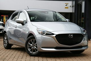 2021 Mazda 2 DJ2HAA G15 SKYACTIV-Drive Pure Sonic Silver 6 Speed Sports Automatic Hatchback.