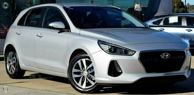 Used Hyundai i30 PD2 MY19 Active, 2018 Hyundai i30 PD2 MY19 Active Silver 6 Speed Sports Automatic Hatchback