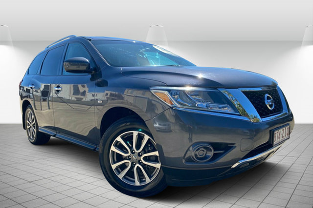 Used Nissan Pathfinder R52 MY14 ST X-tronic 2WD, 2014 Nissan Pathfinder R52 MY14 ST X-tronic 2WD Grey 1 Speed Constant Variable Wagon