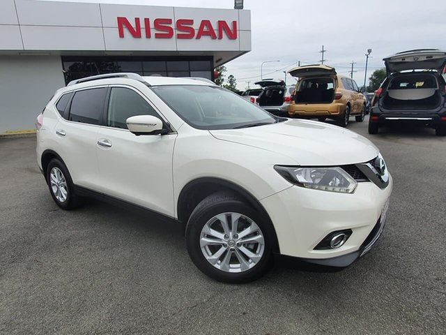 Used Nissan X-Trail T32 ST-L X-tronic 4WD, 2014 Nissan X-Trail T32 ST-L X-tronic 4WD Ivory 7 Speed Constant Variable Wagon