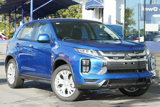 New Mitsubishi ASX XD MY20 ES 2WD, 2019 Mitsubishi ASX XD MY20 ES 2WD Lightning Blue 1 Speed Constant Variable Wagon