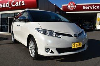 2016 Toyota Tarago ACR50R MY13 GLX White 7 Speed Constant Variable Wagon.