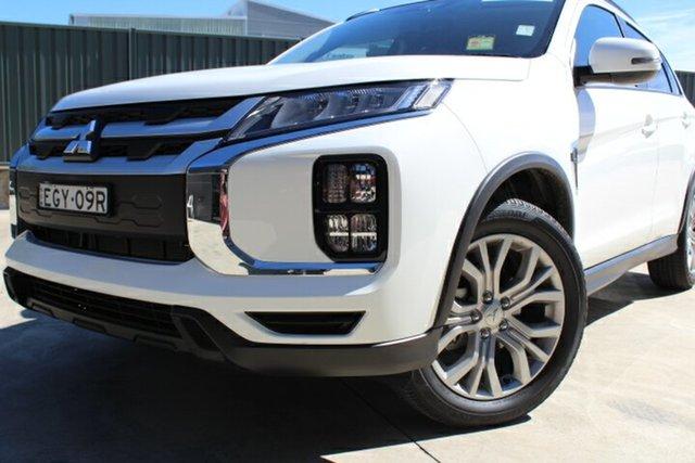 Demo Mitsubishi ASX XD MY20 LS 2WD, 2019 Mitsubishi ASX XD MY20 LS 2WD White 6 Speed Constant Variable Wagon