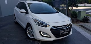 2015 Hyundai i30 GD Tourer Active 1.6 CRDi White 6 Speed Automatic Wagon.