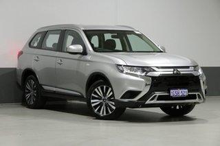 2018 Mitsubishi Outlander ZL MY19 ES 7 Seat (AWD) Silver Continuous Variable Wagon.