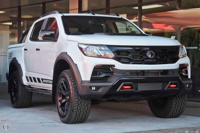 Demo Holden Special Vehicles Colorado RG MY20 SportsCat Pickup Crew Cab SV, 2019 Holden Special Vehicles Colorado RG MY20 SportsCat Pickup Crew Cab SV Summit White 6 Speed