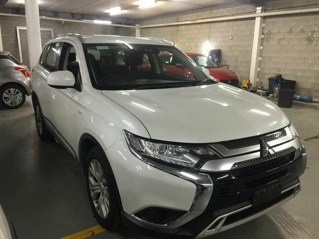 Used Mitsubishi Outlander ZL MY20 ES AWD, 2019 Mitsubishi Outlander ZL MY20 ES AWD Metallic White 6 Speed Constant Variable Wagon