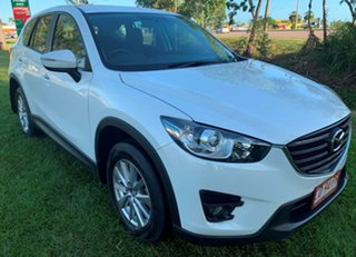 2016 Mazda CX-5 KE1072 Maxx SKYACTIV-Drive FWD Sport White 6 Speed Sports Automatic Wagon.