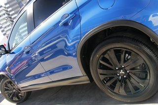 2021 Mitsubishi ASX XD MY21 GSR 2WD Lightning Blue 6 Speed Constant Variable Wagon