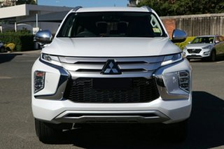 2020 Mitsubishi Pajero Sport QF MY20 Exceed White Diamond 8 Speed Sports Automatic Wagon