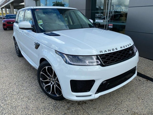 New Land Rover Range Rover Sport L494 20MY SDV6 HSE Dynamic, 2020 Land Rover Range Rover Sport L494 20MY SDV6 HSE Dynamic Fuji White 8 Speed Sports Automatic