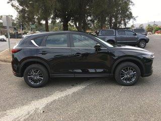 2020 Mazda CX-5 KF2W7A Maxx SKYACTIV-Drive FWD Sport Jet Black 6 Speed Sports Automatic Wagon.