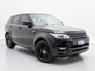 2013 Land Rover Range Rover LW Sport 3.0 SDV6 SE Black 8 Speed Automatic Wagon.