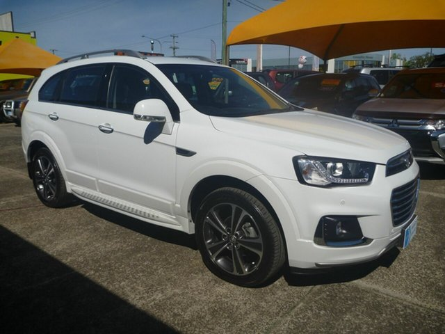 Used Holden Captiva CG MY16 LTZ AWD, 2016 Holden Captiva CG MY16 LTZ AWD White 6 Speed Sports Automatic Wagon