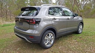 2020 Volkswagen T-Cross C1 MY20 85TSI DSG FWD Style Limestone Grey 7 Speed.