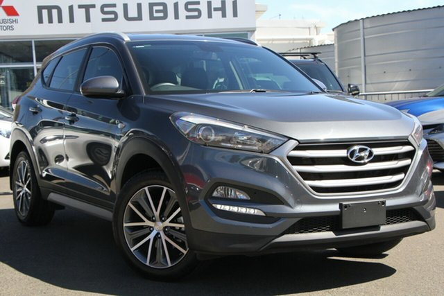 Used Hyundai Tucson TLE Active 2WD, 2016 Hyundai Tucson TLE Active 2WD Pepper Gray 6 Speed Sports Automatic Wagon