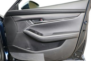 2019 Mazda 3 BP2S76 G20 SKYACTIV-MT Touring Deep Crystal Blue 6 Speed Manual Sedan