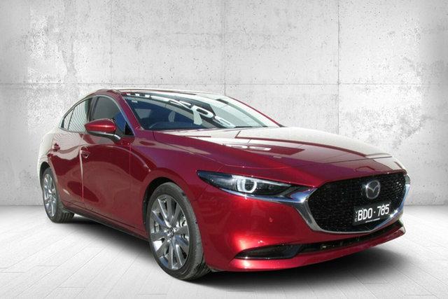 Demo Mazda 3 BP2SLA G25 SKYACTIV-Drive Astina, 2019 Mazda 3 G25 ASTINA G25 SKYACTIV-Drive Astina Red 6 Speed Automatic Sedan