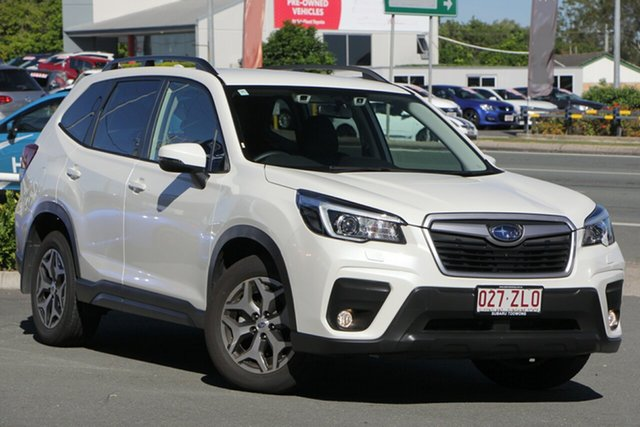 Demo Subaru Forester S5 MY20 2.5i-L CVT AWD, 2019 Subaru Forester S5 MY20 2.5i-L CVT AWD White Crystal 7 Speed Constant Variable Wagon