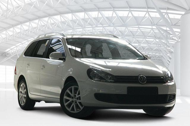 Used Volkswagen Golf 1K MY12 118 TSI Comfortline, 2012 Volkswagen Golf 1K MY12 118 TSI Comfortline White 7 Speed Auto Direct Shift Wagon