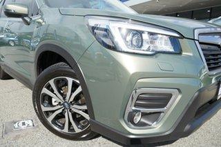 2019 Subaru Forester S5 MY20 2.5i Premium CVT AWD Jasper Green Metallic 7 Speed Constant Variable.