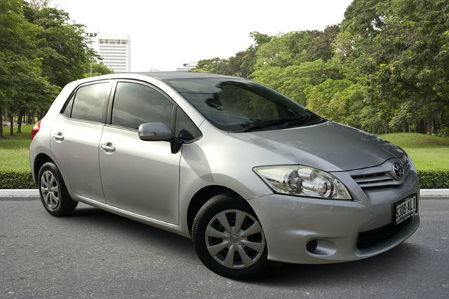 Used Toyota Corolla ZRE152R MY11 Ascent, 2011 Toyota Corolla ZRE152R MY11 Ascent Silver 4 Speed Automatic Hatchback