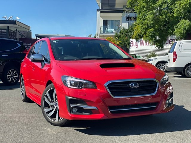 Used Subaru Levorg V1 MY18 2.0 GT-S CVT AWD, 2018 Subaru Levorg V1 MY18 2.0 GT-S CVT AWD Red 8 Speed Constant Variable Wagon