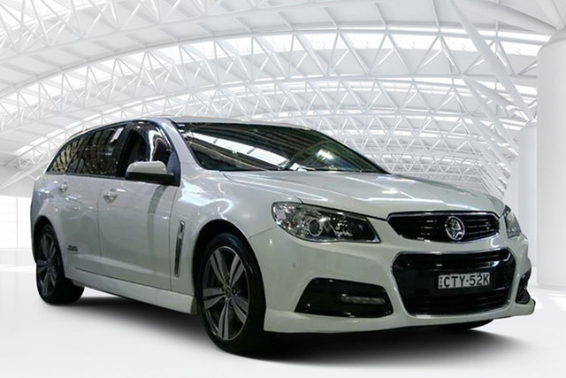 Used Holden Commodore VF SS, 2013 Holden Commodore VF SS Heron White 6 Speed Automatic Sportswagon