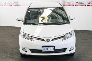 2017 Toyota Tarago ACR50R GLi Glacier White 7 Speed Constant Variable Wagon