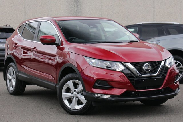 New Nissan Qashqai J11 Series 3 MY20 ST+ X-tronic Wangara, 2021 Nissan Qashqai J11 Series 3 MY20 ST+ X-tronic Magnetic Red 1 Speed Constant Variable Wagon
