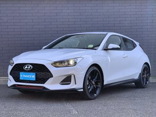 2019 Hyundai Veloster JS MY20 Turbo Coupe Chalk White 6 Speed Manual Hatchback