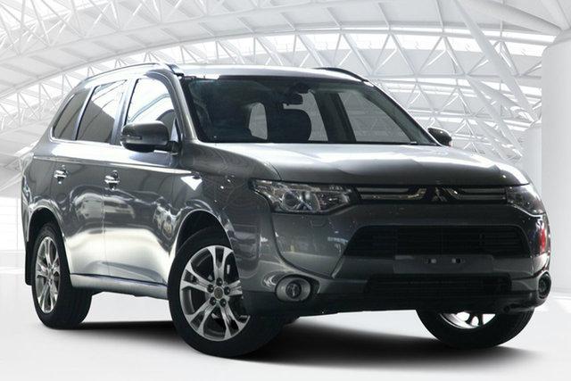 Used Mitsubishi Outlander ZJ Aspire (4x4), 2013 Mitsubishi Outlander ZJ Aspire (4x4) Grey 6 Speed Automatic Wagon