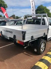 2020 Holden Colorado RG MY20 LS Crew Cab Summit White 6 Speed Sports Automatic Cab Chassis.
