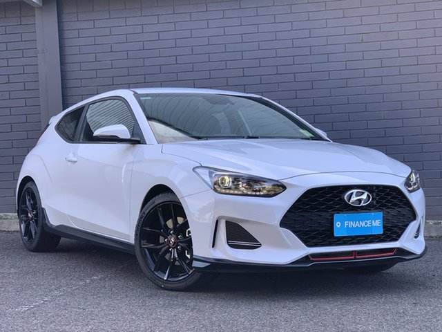 New Hyundai Veloster JS MY20 Turbo Coupe Totness, 2019 Hyundai Veloster JS MY20 Turbo Coupe Chalk White 6 Speed Manual Hatchback