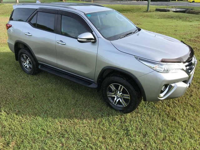 Used Toyota Fortuner GUN156R GXL, 2016 Toyota Fortuner GUN156R GXL Silver Sky 6 Speed Automatic Wagon