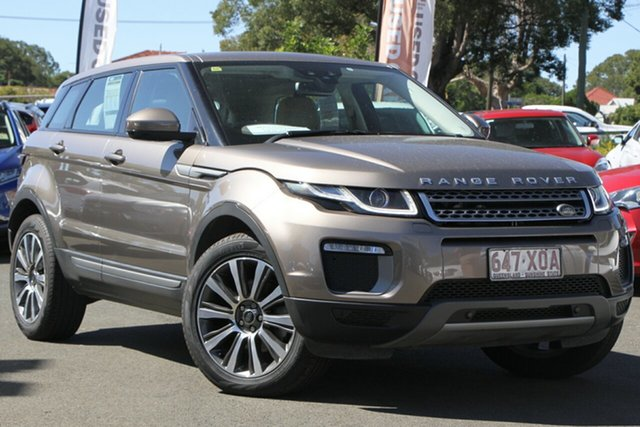 Used Land Rover Range Rover Evoque L538 MY16 TD4 180 SE, 2015 Land Rover Range Rover Evoque L538 MY16 TD4 180 SE Brown 9 Speed Sports Automatic Wagon