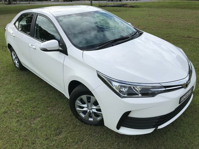 Used Toyota Corolla ZRE172R Ascent S-CVT, 2019 Toyota Corolla ZRE172R Ascent S-CVT Glacier White 7 Speed Constant Variable Sedan