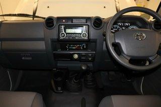 2018 Toyota Landcruiser VDJ76R Workmate White 5 speed Manual Wagon