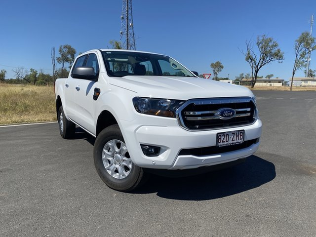 Used Ford Ranger PX MkIII 2020.25MY XLS Pick-up Double Cab, 2019 Ford Ranger PX MkIII 2020.25MY XLS Pick-up Double Cab Arctic White 6 Speed Sports Automatic