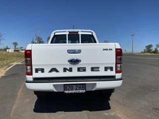 2019 Ford Ranger PX MkIII 2020.25MY XLS Pick-up Double Cab Arctic White 6 Speed Sports Automatic